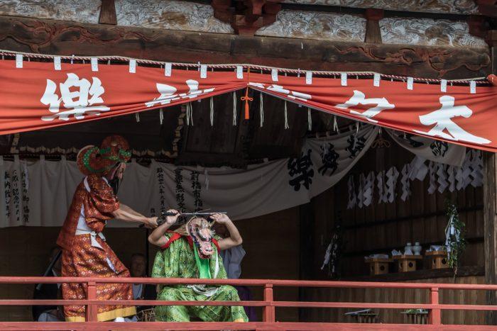 産泰神社太々神楽
