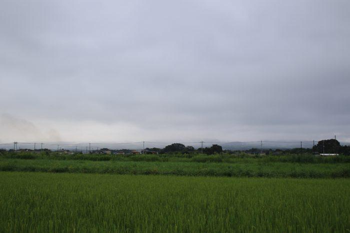 8月21日(月) AM 7:24 前橋市大前田町