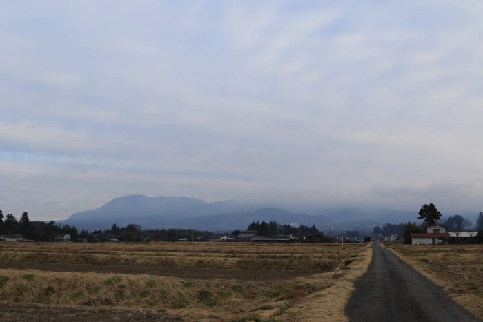2月22日(木) AM 7:38 前橋市苗ケ島町