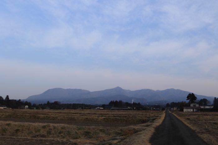 2月26日(月) AM 7:40 前橋市苗ケ島町
