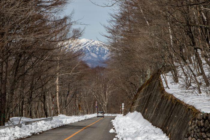 赤城山北面道路開通