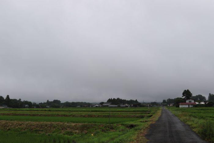 7月6日(金) AM 7:17 前橋市苗ケ島町