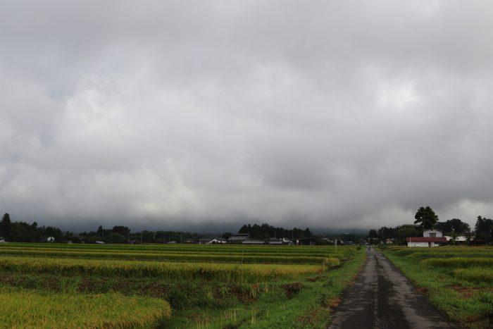 9月11日(火) AM 7:27 前橋市苗ケ島町