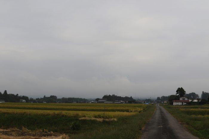 10月4日(木) AM 7:35 前橋市苗ケ島町