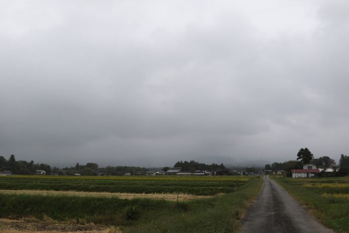 10月8日(月) AM 9:54 前橋市苗ケ島町
