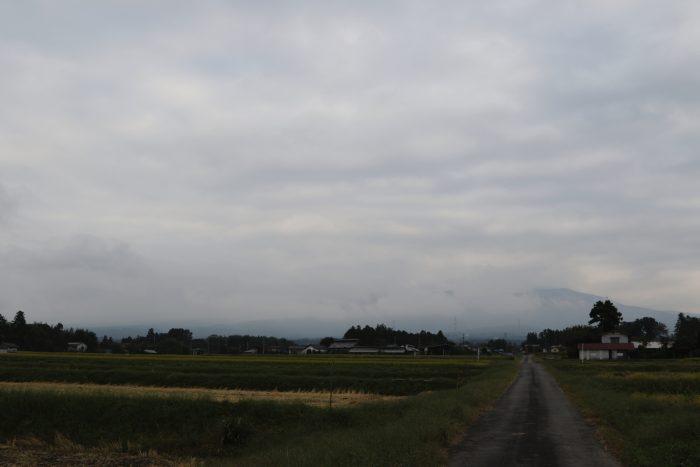 10月10日(水) AM 7:40 前橋市苗ケ島町