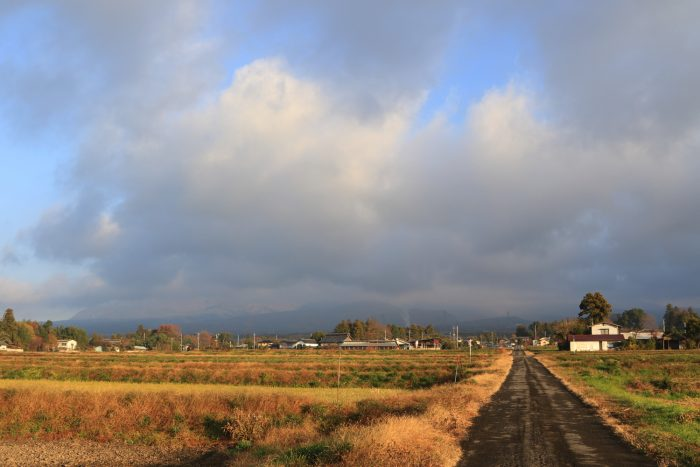 11月29日(木) AM 7:28 前橋市苗ケ島町