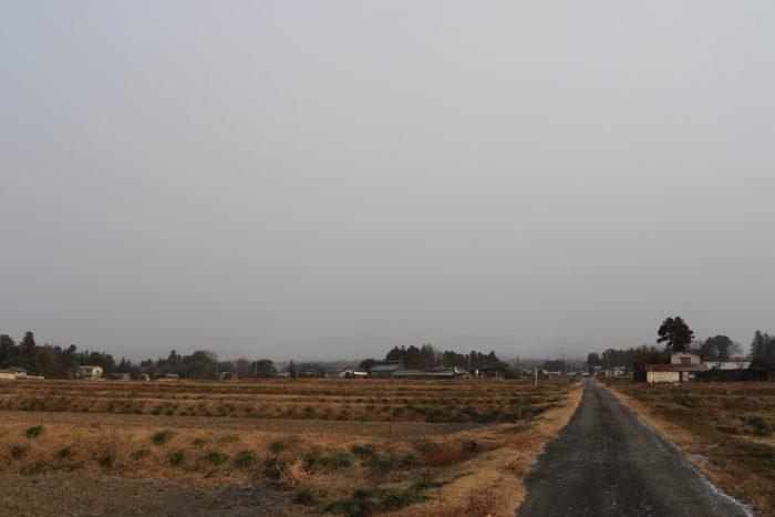 1月29日(火) AM 7:27 前橋市苗ケ島町