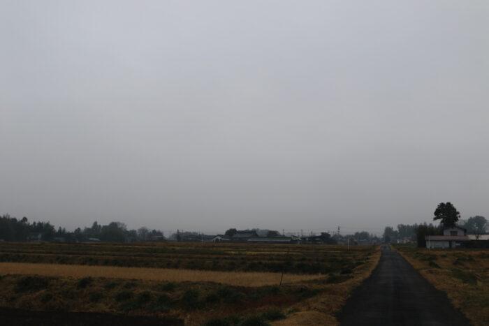 1月8日(水) AM 7:46 前橋市苗ケ島町