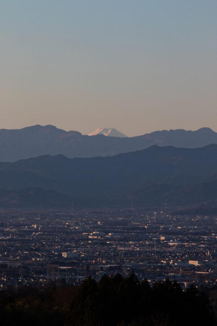 1月1日(水) 赤城南麓からの富士山
