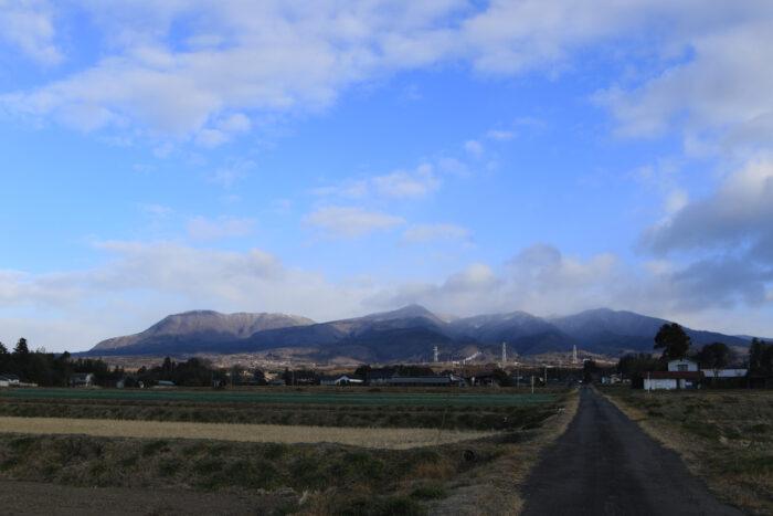 2月28日(金) AM 7:45 前橋市苗ケ島町