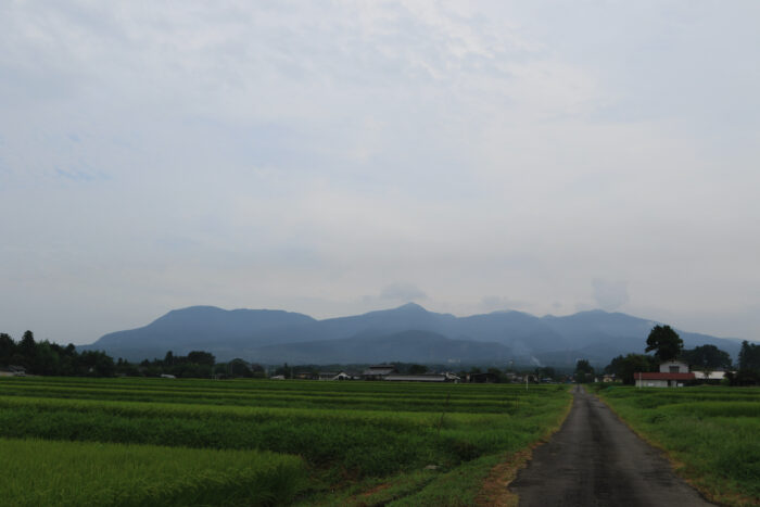 8月23日(日) AM 7:49 前橋市苗ケ島町