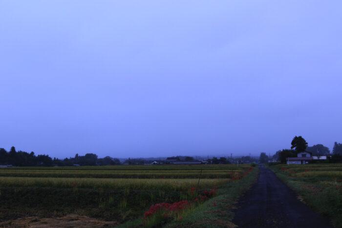 9月27日(日) AM 6:06 前橋市苗ケ島町